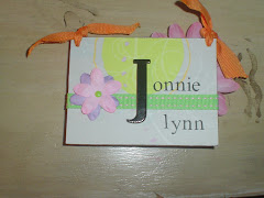 Homemade Business Card holder