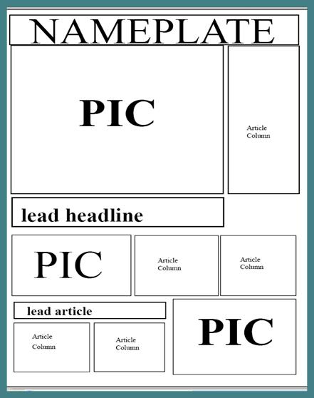 A2 Media Local Newspaper Newspaper Layout Ideas Final