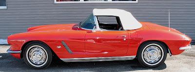 Classic Corvette 1962 Red