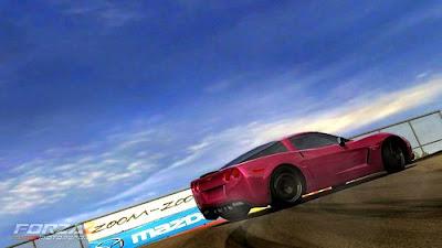 Pink Corvette