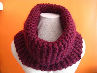 Knit Cowl - Little Flowers + Kid Merino - Free Knitting