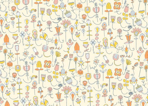 Recently I Found This New To Me Wallpaper That Julia Designed For WallCollection Its Really Darling And Thought Id Share It With You