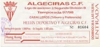 entrada del Algeciras Hellin