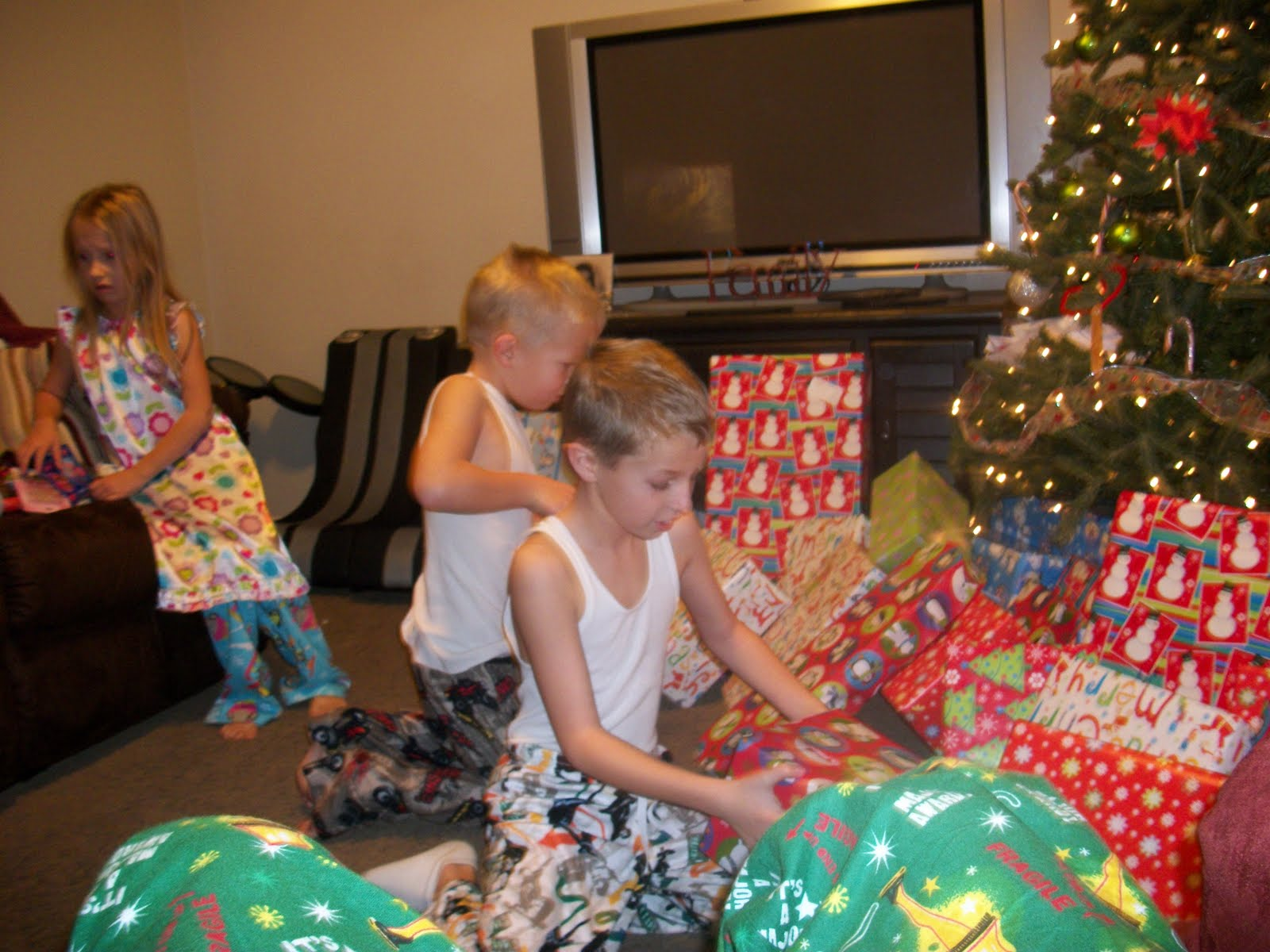 McArthur Family: Christmas Day....