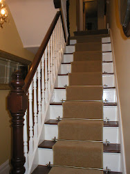 Beau The Victorian Staircase AFTER Paint Stripping And Renovation