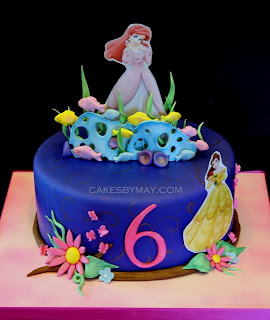 Cake Images Sonali : Cakes by Maylene: Ariel and Belle
