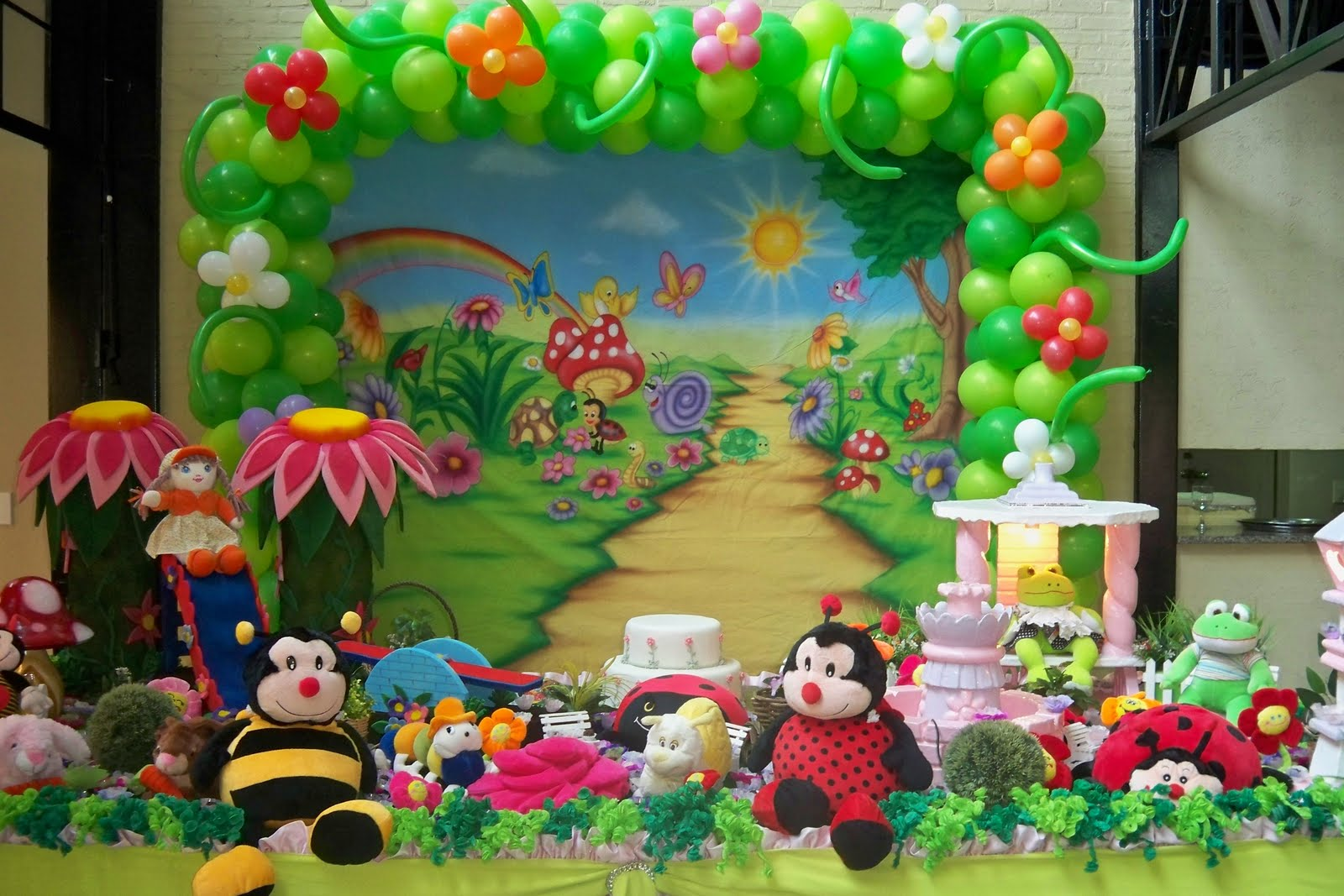 festa infantil tema o jardim : festa infantil tema o jardim:KZA Colde festas – por que nos contratar: FESTA DO JARDIM ENCANTADO