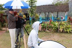 Rodando Documental en Rio Limpio