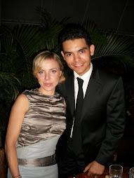 Camilo Then y la actriz principal Shirley Brener película TOUCHED