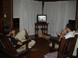 La tele en Villa Gesell