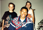 """KJ"" (Kevin Johnson), Aaron & Stephen 1989"
