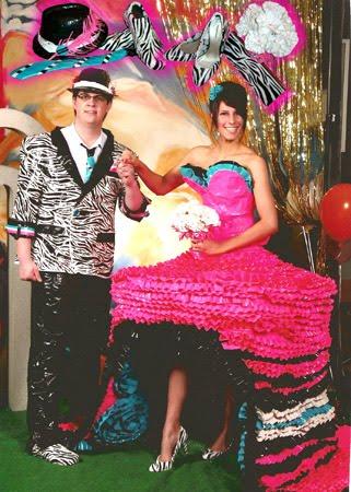 Brand Duck Tape Prom Dress