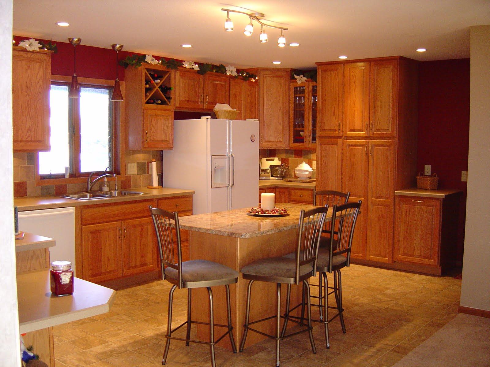 KraftMaid Oak Kitchen Cabinets