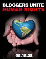 Selo Blogueiros Unidos Pelos Direitos Humanos
