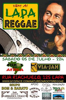 cartaz Lapa Reggae