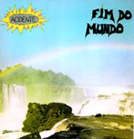 Capa do vinil Guerra Civil, segundo disco da banda independente Acidente, lançado em 1983, com 15 rocks varidos