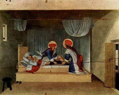 Têmpera de Fra Angelico