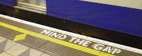 Mind the Gap, Cuidado com o vão entre o trem e a plataforma