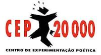 Logomarca do Centro de Experimentações Poéticas CEP 20.000