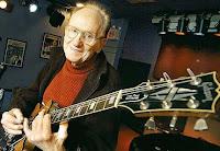 Les Paul inventou a guitarra elétrica que hoje é referência em todo o mundo