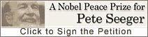 Pete Seeger para o Prêmio Nobel da Paz 2008