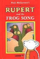 Capa do livro infantil Rupert and The Frog Song