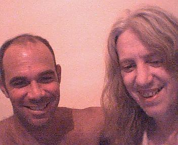 Ruy Fortunato de Assis Junior e Helio Jenné - Sobrinho e tio confraternizam