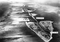 Foto do Arquipélago de Eugelab, onde os EUA realizaram o primeiro teste com a bomba de hidrogênio no mundo