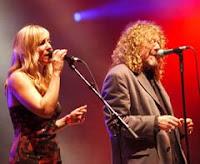Robert Plant e Kristina Donahue