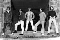 The Damnation of Adam Blessing, 1968. Esquerda para a direita: Ray Benich, Jim Quinn, Adam Blessing, Bill Schwark, Bob Kalamasz. (Photo: Gary Shuba)