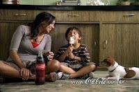 Mãe, você é essa Coca-Cola toda!