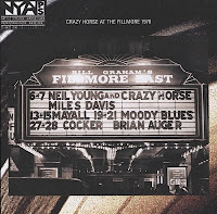 Neil Young e Crazy Horse no Fillmore East, em 1971
