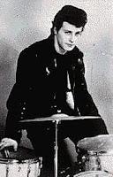 Pete Best em Hamburgo, 1961, foto de Astrid Kircherr