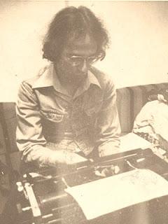 Paulo Malária em 1979 ou 80