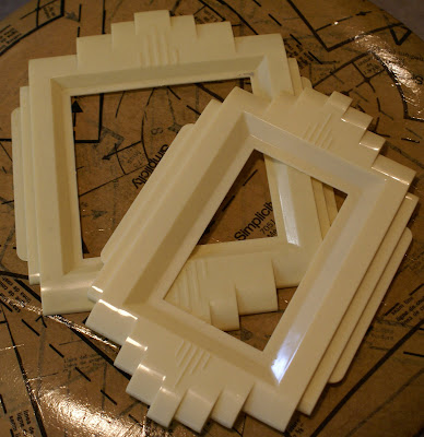 A couple of art deco switch plate covers for a dollar each these would be great for a - Art deco switch plate covers ...