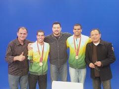 Andre Brasil no programa Bola na Rede