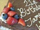 raw celebration cake