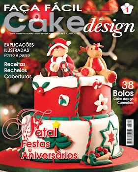 Capa da primeira revista portuguesa de Cake Design