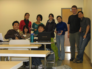 Masters of Management in Operations Research Class 2008 - UBC Centre for Operations Excellence (COE)