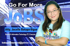 Atty. Jocelle Batapa-Sigue for Congress 2010