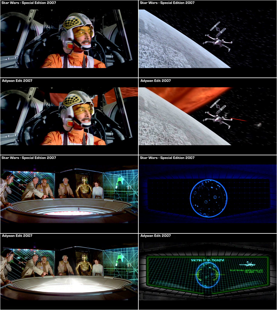 Star Wars IV Revisited by Adywan - fanedit (download ...