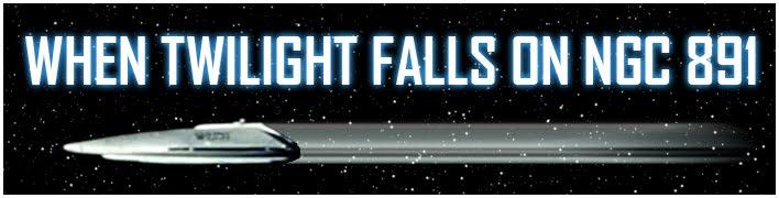 When Twilight Falls on NGC 891