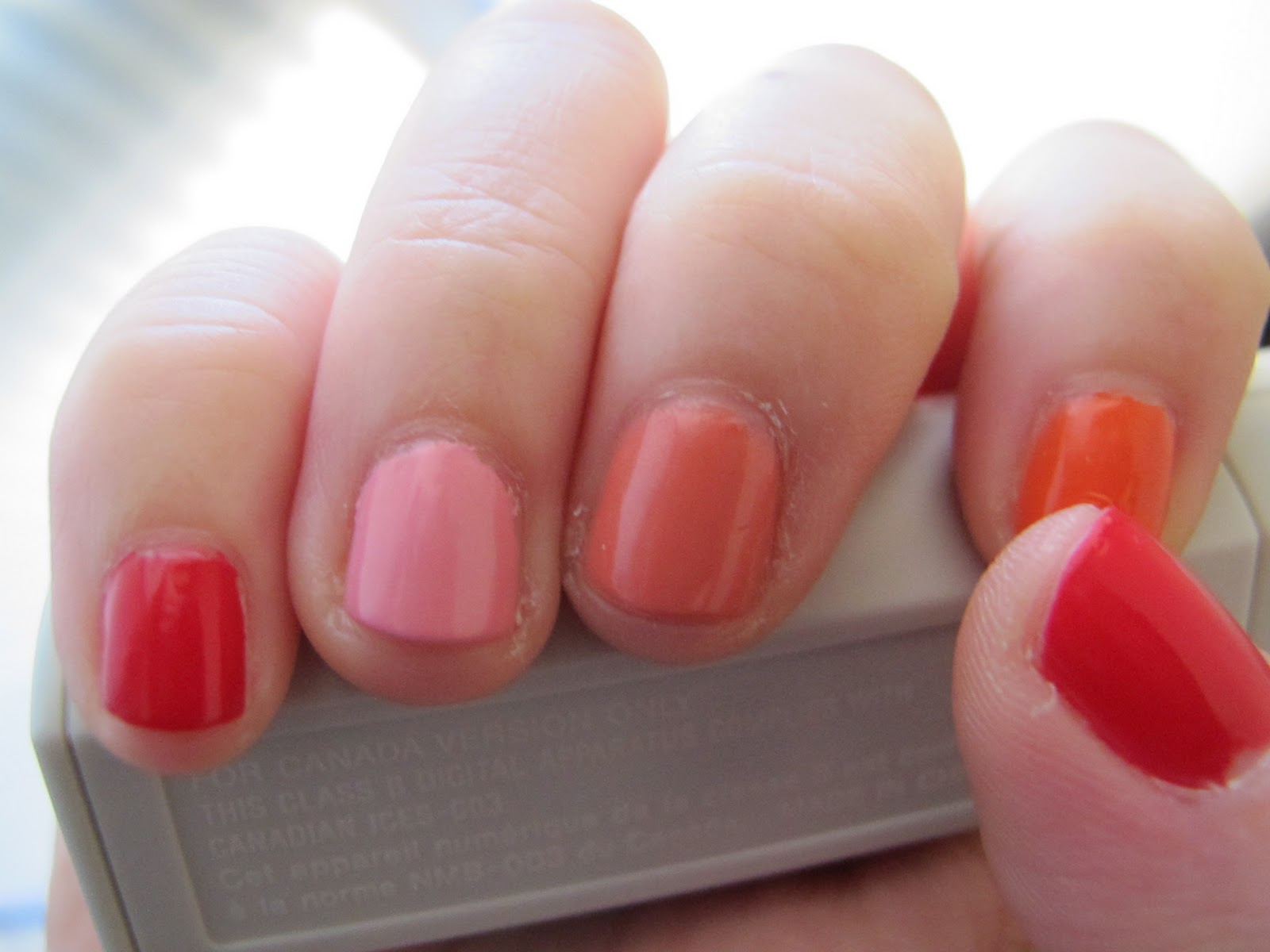 Revlon Fire and Ice Nail Polish and Lipstick Swatches - Free makeup ...