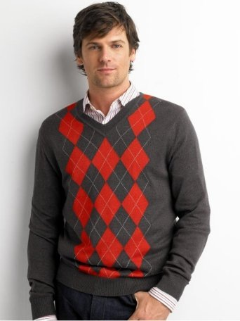 business casual men sweater