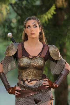 Women Wearing Revealing Warrior Outfits - Page 8 Ellie