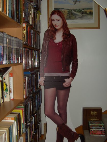 Megan Fox Cardboard Cutout. than me) cardboard cut-out