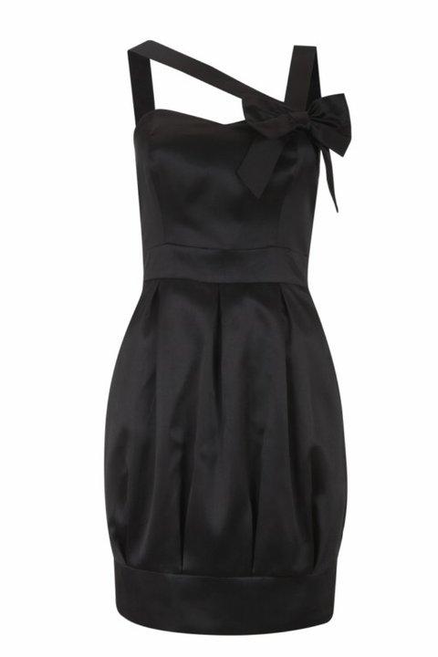 Prom Kleider schwarz Weihnachten