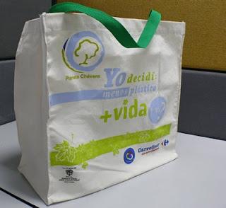 bolsa reutilizable Carrefour