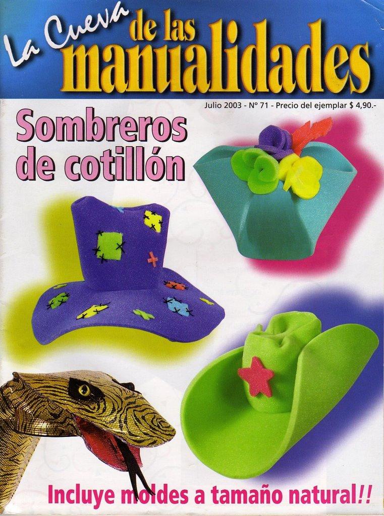 LAS MANUALIDADES DE PANCHITA