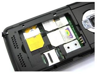 Chip SC6600L7 triple sim